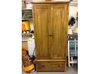 2 Door Wooden Wardrobe