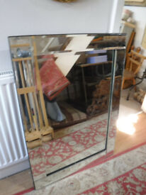 Bevelled Glass mirror's