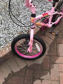 Girls Roxie Bike ages 5-8 years