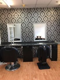 BARBERS/HARDRESSERS BUSINESS AVAILABLE TO LET IN CANNOCK VARIETY SHOPPING CENTRE