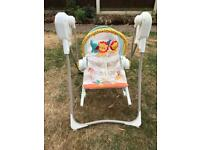 Baby swing/seat