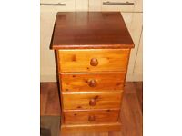 Solid Pine Chest of Four Draws