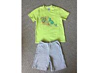 Summer T shirt and Short Pyjama Set