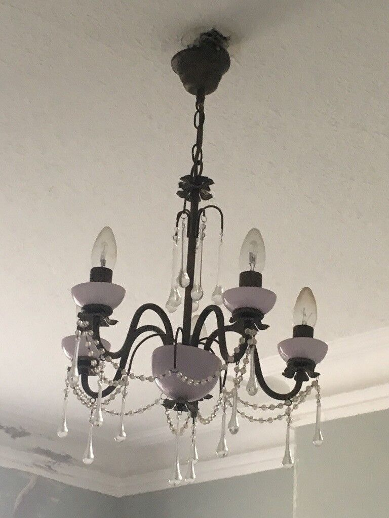 Five Candle Light Chandelier | in Falmouth, Cornwall | Gumtree