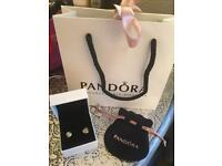 Pandora earrings new
