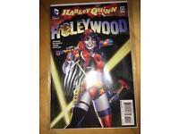 Harley Quinn comic book.