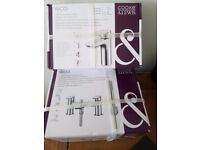 New cook and lewis bathroom tap set