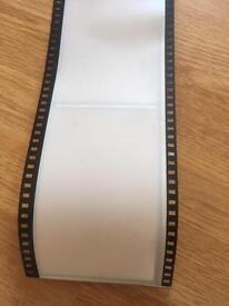 Camera film roll photo frame