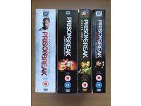 Prison Break, Series 1 - 4 DVD boxsets