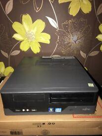 **SPECIAL OFFER - £65** Fujitsu Esprimo E400 E85+ Desktop PC Core i3 4GB 500GB Win10
