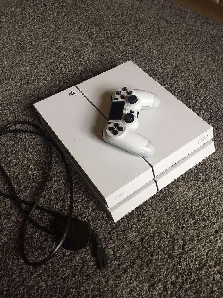 Song PS4 (PlayStation 4) White Console 500GB Nearest offer   in Ahoghill,  County Antrim   Gumtree