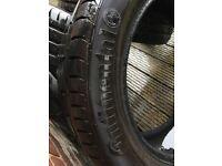BMW X3 'run-flat' Tyres Continental x 4