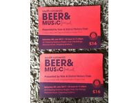 Beer festival tickets
