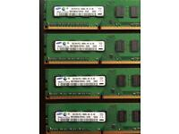Samsung DDR3 1333Mhz (4x2Gb) Memory