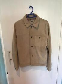Suede Leather jacket - unworn