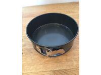 "Spring form cake tin, 7"", non-stick"
