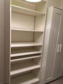 Ikea white shelving unit - Large