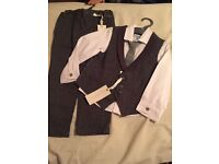 *New with tags*Mothercare Special collection,Boys 2-3years waistcoat shirt and trouser outfit