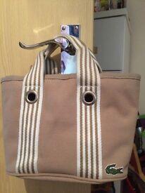 Lascoste handbag brand new