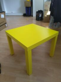 Cute Yellow Ikea LACK side table