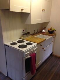 Self contained flat, all bills inc, village close to Ipswich, parking,no smoking/ pets ,furnished