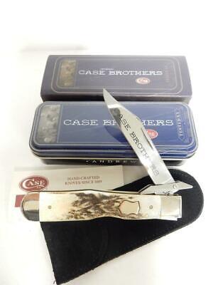 2004 CASE BROTHERS 5111 SSL, BURNT STAG CHEETAH KNIFE, 1 0F 500 #CG537
