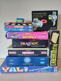 Games and puzzles - for all ages. See individual descriptions and prices