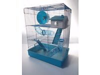 Large Hamster Cage - Penthouse Blue RRP £29.99