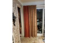 MODERN UNIQUE Patio door curtains - BARGIN