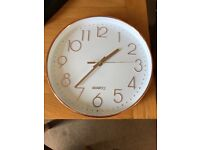 Bronze Quartz clock