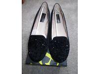 Brand new Cushion Walk black shoes size 7