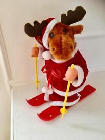 Cute Moving / Musical Christmas Reindeer.