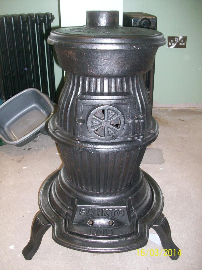 Pot Belly Stove Sankyo No 8 In Andersonstown Belfast