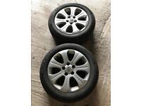 Vauxhall zafira wheels and tyres