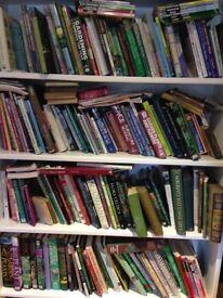 various gardening books