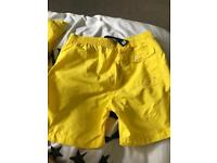 Ralph Lauren swim shorts age 7 to 8 an 9 to 10