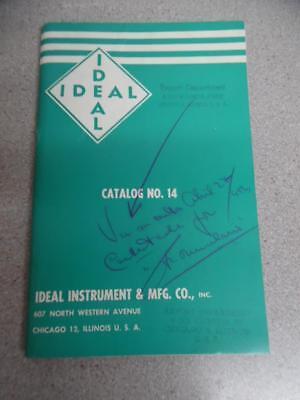 1955 Ideal Instrument & Mfg Co. Veterinary Medical Instrument Catalog Vintage VG