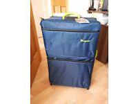 New it luggage worlds lightest large suitcase