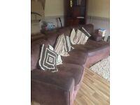 Free Corner sofa and single chair