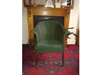 Lloyd Loom Chair.