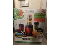 Salter Nutri Pro 1200 Blender Smoothie Maker Nutrient Extractor Juicer