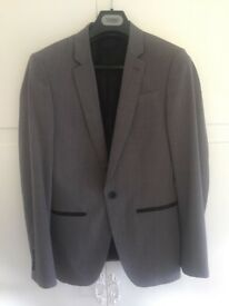 Grey Mens/Youth Prom Suit from Top Man