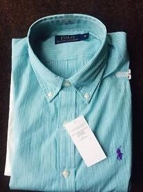 Ralph Lauren shirt M in Aqua