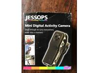 Mini digital activity video camera