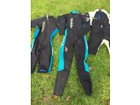 Wet suits - REEF brand; Fins SURGE brand