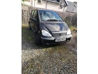 Mercedes A class 2003 low miles