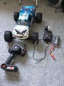 Rc car hpi ( drone) firestorm flux