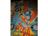 Thomas the tank engine single quilt cover and curtains