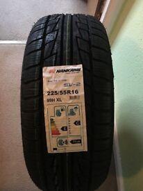 225/55/16 brand new winter tyre nankang sv2