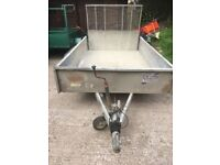 Ifor Williams Plant Trailer.